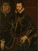 Portrait of Walter Devereux (1539–1576), Earl of Essex, in Armor
