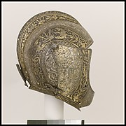 Close-Helmet of Vicenzo I Gonzaga (1562–1612), Duke of Mantua