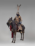 Armor with Equestrian Equipment