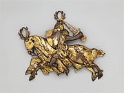 Ornamental Plaque of a Knight on Horseback