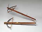 Crossbow with Spanning Lever