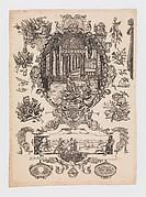 Print from Nouveaux Desseins D'Arquebuseries