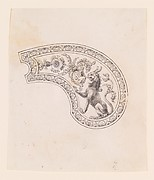 Design for the Decoration of the Grip of a Pocket Pistol