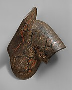 "Left Shoulder Defense (Pauldron) Belonging to an Armor of Duke Nikolaus ""The Black"" Radziwill (1515–1565), Duke of Nieśwież and Olyka, Prince of the Empire, Grand Chancellor and Marshal of Lithuania"