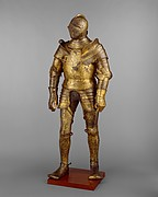 Armor Garniture, Probably of King Henry VIII of England (reigned 150947)