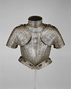 Portions of an Armor for  Vincenzo Luigi de Capua (died 1627)