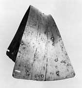 Parts of an Inner Thigh Defense (Hoguine) for a Boy's Armor