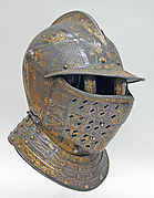 Close Helmet with Falling Buffe