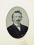 Tintype Photograph of Gustave Young (1827–1895)