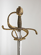 Rapier with scabbard