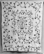 Quilt, floral pattern
