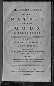 Book: Of the Nature of the Gods