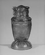 Covered Owl Jar