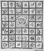 Chintz appliqued quilt