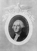 Panel of George Washington