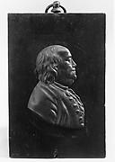 Plaque of Benjamin Franklin