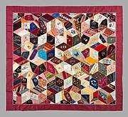 Quilt, Crazy pattern