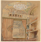 Design for Lyceum Theatre, New York