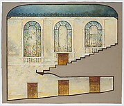 Design for side wall and interior treatment for Hershey Theater, Hershey, Pennsylvania