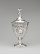 Sugar urn with cover