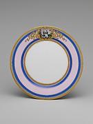 Continental Porcelain Plate, Kentucky