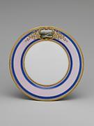 Continental Porcelain Plate, Ohio
