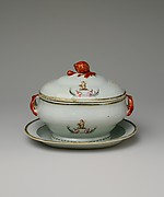 Covered Sauce Tureen