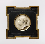 Medallion of Benjamin Franklin