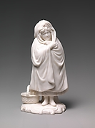 Figure of Red Riding Hood with Basket