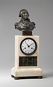 Clock with Bust of Washington and Relief of Cornwallis Resigning his Sword to Washington