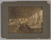 Large photograph of Lamp Shade Department