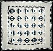 Quilt, Double X pattern