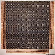 Coverlet, Wheel of Fortune pattern variation