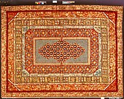 Needlepoint carpet