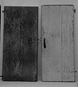 Batten Door from the Williams House, near Preston, Connecticut