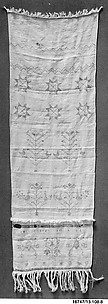 Embroidered Show Towel