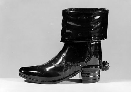 Boot with Spur