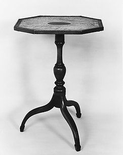 Tilt-top Tea Table