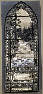 River of Life landscape window design