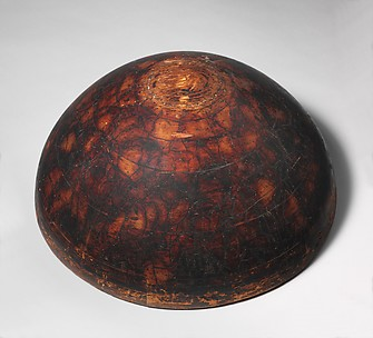 Original tulip shade wood block from Tiffany Studios
