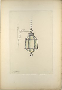 Design for hanging light fixture