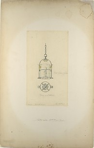 Design for hanging lantern