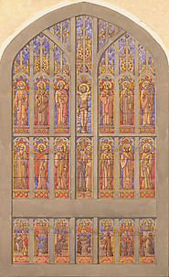 Design for a seven lancet window