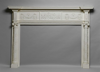 Mantel from Elias Hasket Derby House, Salem, Massachusetts