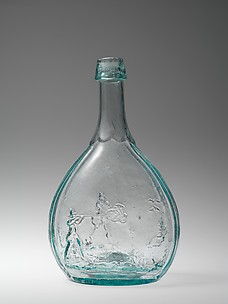 Figured bottle