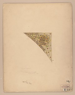 Design for a filigree spandrel