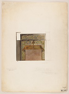 Suggestion for mosaic mantel facing / Mr. G. E. Hardy, Englewood, New Jersey