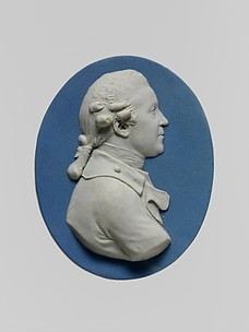 Medallion of Joshua Reynolds