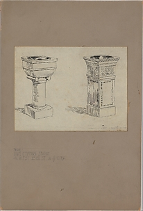 Design for baptismal fonts