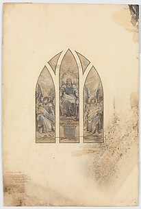 Design for three lancet window